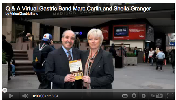 Marc Carlin & Sheila Granger Teach The Virtual Gastric Band In Toronto Canada